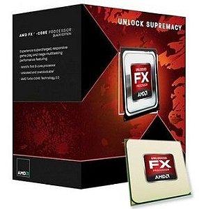 Processador AMD FX 4300 Bulldozer 3.8 GHZ C/ 8MB Cache AM3+ FD4300WMHKBOX