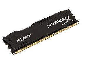 Memória Kingston 4GB 1600MHz DDR3 HyperX Fury