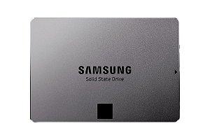 SSD Samsung 850 EVO 2.5´ 1TB SATA III 6Gb/s Leituras: 540MB/s e Gravações: 520MB/s - MZ-75E1T0B/EU
