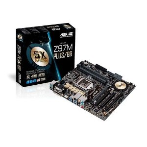 Placa Mãe ASUS para Intel Z97M-PLUS LGA 1150