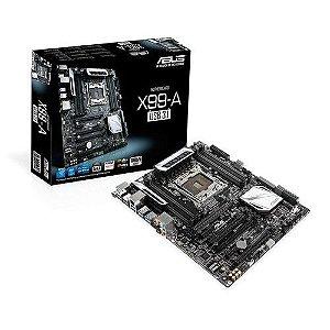 Placa-mãe ASUS ATX p/ Intel LGA 2011-v3 X99-A USB 3.1