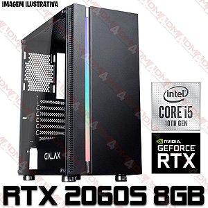 PC Gamer Intel Core i5 10400F, 16GB DDR4, SSD 480GB, GPU GEFORCE RTX 2060 SUPER 8GB