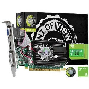 Placa de Vídeo Geforce GT 610 - 2gb DDR3 - 64 Bits Point Of View VGA-610-C5-2048