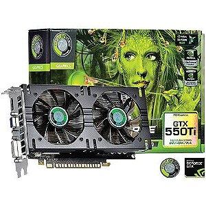 Placa de Vídeo Geforce GTX 550TI - 2gb DDR5 - 192 Bits Point Of View VGA-550-A1-1024