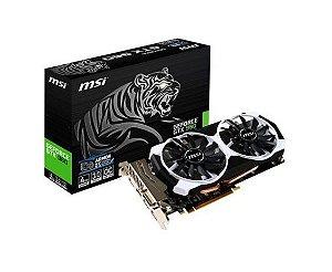 Placa de Vídeo Geforce GTX 960 - 4gb OC DDR5 - 128 Bits MSI