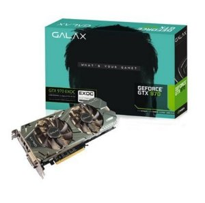 Placa de Vídeo Geforce GTX 970 EX OC Black 4gb DDR5 - 256 Bits Galax