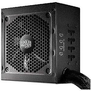 Fonte ATX 650 Watts Reais Modular C/ PFC Atívo 80% Bronze Cooler Master G650M