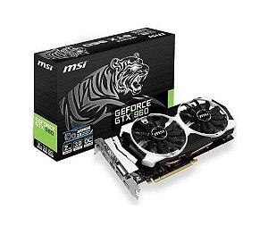 Placa de Vídeo Geforce GTX 960 - 2gb OC DDR5 - 128 Bits MSI