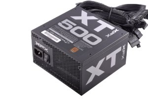 Fonte ATX 500 Watts Reais C/ PFC Atívo XT Full Wired XFX 80% Plus Bronze  P1-500B-XTFR