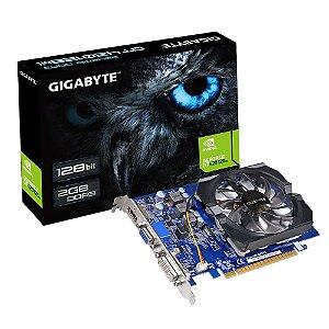 Placa de Vídeo Geforce GT 420 - 2gb DDR3 - 128 Bits Gigabyte  GV-N420-2GI