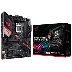 Placa Mãe ASUS ROG STRIX CHIPSET INTEL Z490-H GAMING SOCKET LGA 1200
