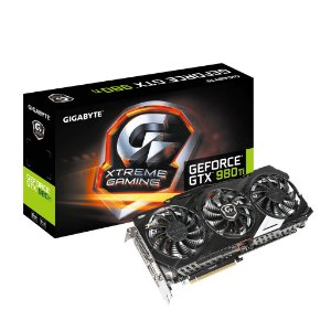 Placa de Vídeo Geforce GTX 980TI Extreme Edition 6gb DDR5 - 384 Bits Gigabyte  GV-N98TXTREME-6GD
