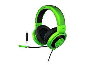 Headset Gamer Razer Kraken Pro Verde e Preto