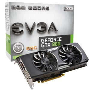 Placa de Vídeo Geforce GTX 960 SSC 2gb DDR5 - 128 Bits EVGA