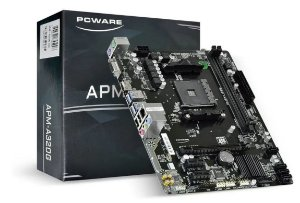 Placa Mãe APM-A320G CHIPSET AMD A320M SOCKET AM4