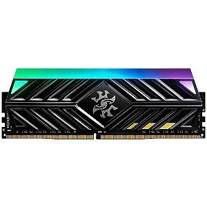 Memória Ram 8GB DDR4 CL16 3000 Mhz ADATA XPG Spectrix D41 TUF - AX4U300038G16-SB41