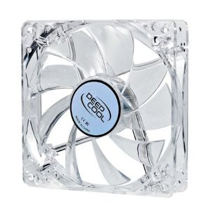 Cooler FAN DeepCool 8cmx8cm Super Silent Big Airflow Blue LED XFAN80L/B