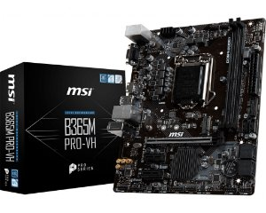 Placa Mãe MSI CHIPSET INTEL  B365M PRO-VH SOCKET LGA 1151