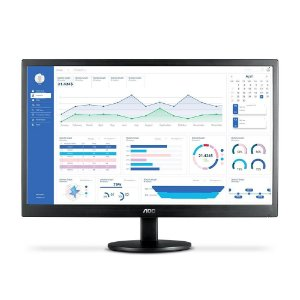 Monitor LED 21.5 Polegadas FULL HD C/ HDMI AOC E2270SWHEN