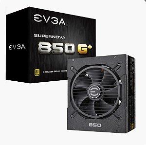 Fonte ATX 850 Watts Potência Real Bivolt, PFC Ativo, FULL Modular, EVGA - 120-GP-0850-X1 - 80 Plus GOLD