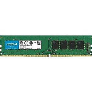 Memória Ram P/ Desktop 8GB DDR4 CL19 2666 Mhz CRUCIAL VALUE - CB8GU2666 (1X8GB)