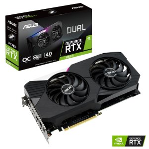 Placa de Vídeo GPU GEFORCE RTX 3060TI 8GB GDDR6 - 256 BITS ASUS DUAL-RTX3060TI-O8G