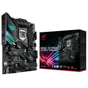 Placa Mãe ASUS ROG STRIX CHIPSET INTEL Z490-F GAMING SOCKET LGA 1200