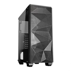 Gabinete Gamer Redragon Grindor, Mid Tower, Sem Fan, Vidro Temperado, Black, Sem Fonte