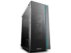 Gabinete ATX Gamer C/ Tampa Lateral em Vidro, USB 3.0 Frontal, DEEPCOOL MATREXX 55