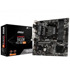 Placa Mãe MSI CHIPSET AMD B450M PRO-VDH MAX SOCKET AM4