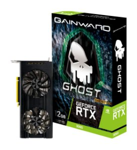 Placa de Vídeo GPU GEFORCE RTX 3060 GHOST OC 12GB GDDR6 192 Bits GAINWARD NE63060T19K9-190AU