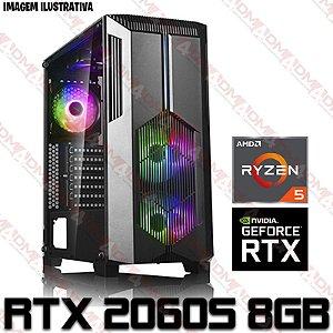 (RECOMENDADO) PC Gamer AMD Ryzen 5 3500, 16GB DDR4, SSD NVME 512GB, GPU GEFORCE RTX 2060 SUPER 8GB