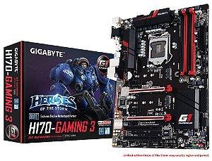 Placa Mãe Gigabyte H170 Gaming 3 DDR4 LGA 1151