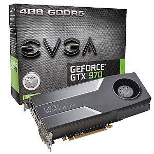 Placa de Vídeo Geforce GTX 970 - 4gb DDR5 - 256 Bits EVGA 04G-P4-1970-KR