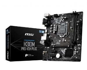 Placa Mãe MSI CHIPSET INTEL H310M PRO-VDH PLUS SOCKET LGA 1151