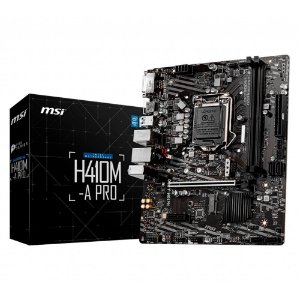 Placa Mãe MSI CHIPSET INTEL H410M-A PRO SOCKET LGA 1200