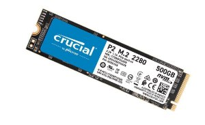 SSD Crucial P2, 500GB, M.2 NVMe, Leituras: 2300Mb/s e Gravações: 940Mb/s - CT500P2SSD8