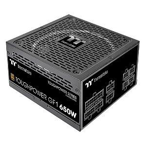(RECOMENDADO) Fonte Thermaltake TT Toughpower GF1 Fully, 650W, 80 Plus Gold, Modular - PS-TPD-0650FNFAGB-1
