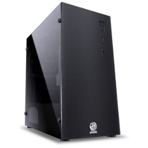 Gabinete Gamer PCYes Terra, Mid Tower, com FAN, Lateral em Acrílico - TERPT2FCA