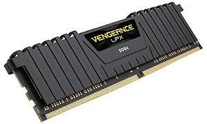 Memória 32gb DDR4 CL16 - 3000 MHZ CORSAIR Vengeance LPX (1X32gb) CMK32GX4M1D3000C16