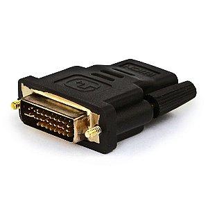 Adaptador DVI para HDMI Fêmea
