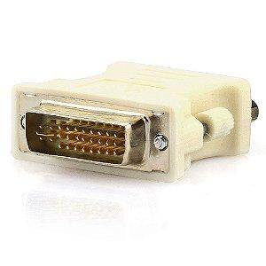 Adaptador DVI para VGA - Branco