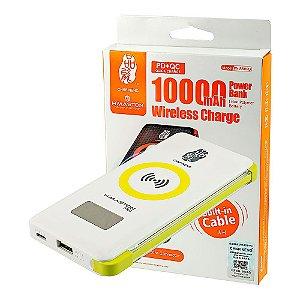 Carregador Portatil  Power Bank sem fio 10000mAh PN-888PD