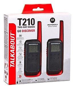Rádio Walk Talk Motorola Talkabout T210