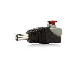 Adaptador Borne Pressão x Plug P4 Macho