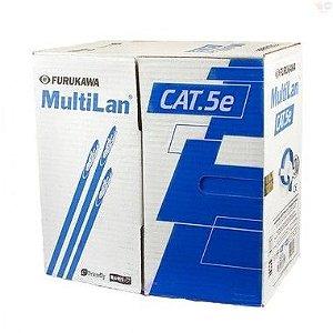 Cabo de Rede Multilan Furukawa Cat5e Anti Chama CX 305 Metros
