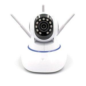 Camera IP Onvif 3Antenas, FullHD, Conexão WI-FI