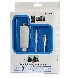 Cabo Lightning HDTV Adaptador HDMI para Iphone