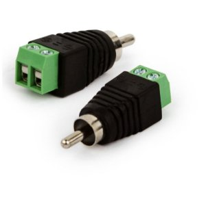 Adaptador Borne X Plug RCA Macho