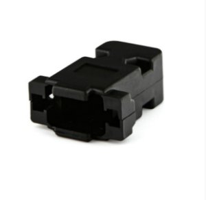 Capa Conector Vga 15 Pinos Plástico Niquelado Kit Longo